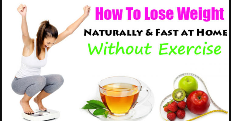 Lose Weight Naturally With Exercise